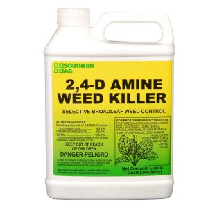 Southern Ag Amine 24-D Weed Killer, White Bottle