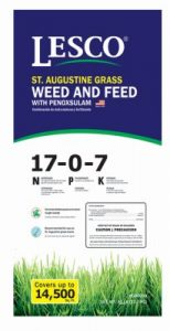St. Augustine Grass Weed And Feed With Penoxsulam