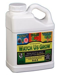 Watch Us Grow All Purpose Liquid Plant Food Fertilizer Concentrate (1, Gallon)
