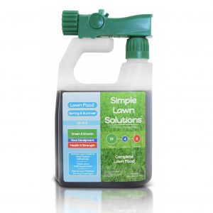 Simple Lawn Solutions 16-4-8 Best Lawn Fertilizer For Spring