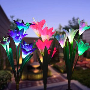 Wohome Stake Flower Lights