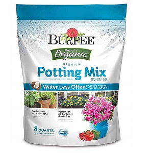 Burpee Best Potting Mix For Container Gardening