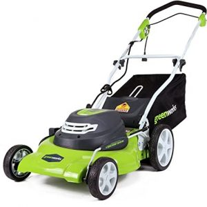 GreenWorks 25022 Best Self Propelled Lawn Mower For Hill