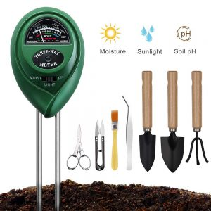 Soil Moisture Meter with Bonsai Tools