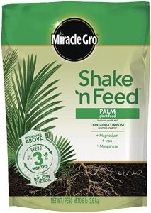 Miracle-Gro Palm Plant Food