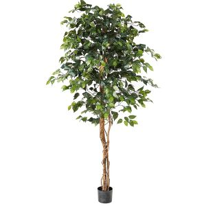 Nearly Natural Ficus Best Patio Plant