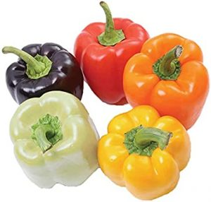 Organic Rainbow Bell Pepper