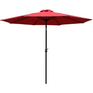 Sunnyglade Best Patio Umbrella For Wind