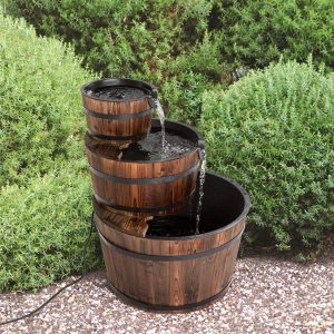 Worldrich Wood Barrel